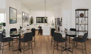 Domus Urbana Condo dinning room